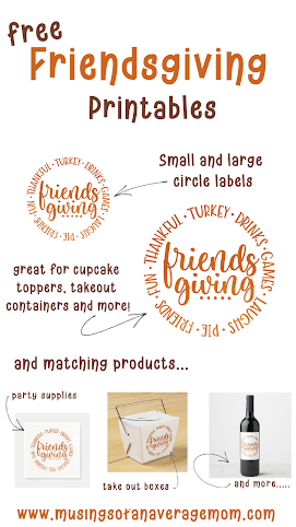 free Friendsgiving printables