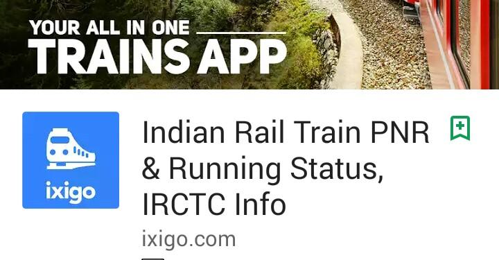 Ixigo Trains App Apk Download