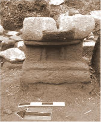 Arca Lingga Yoni di Candi Planggatan