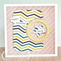 Cardmaking designs  with a Captain America twist by Kim Dellow
