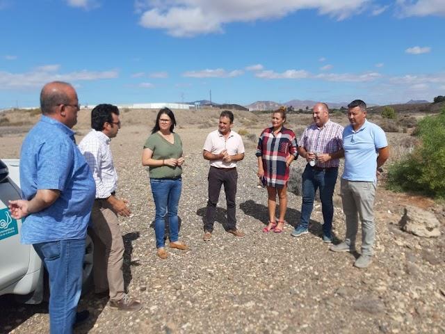 Coordinación entre Ayuntamiento Tuineje  y Cabildo Fuerteventura facilitará el arreglo de barrancos, caminos y la habilitación de aparcamientos