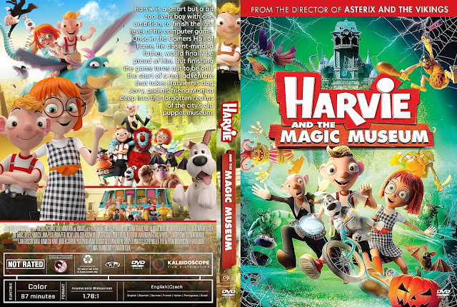 Harvie and the Magic Museum DVD Cover