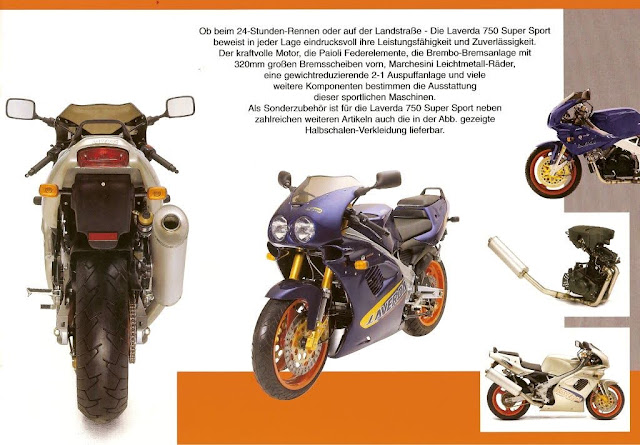 Zanè Laverda 750 SS Brochure