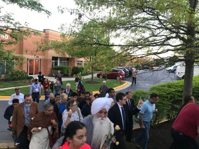 Interfaith worshippers pray for Sri Lanka bombing victims