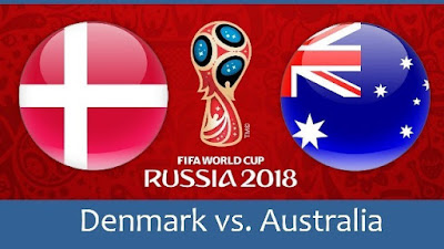 Live Streaming Denmark vs Australia Piala Dunia 21.6.2018