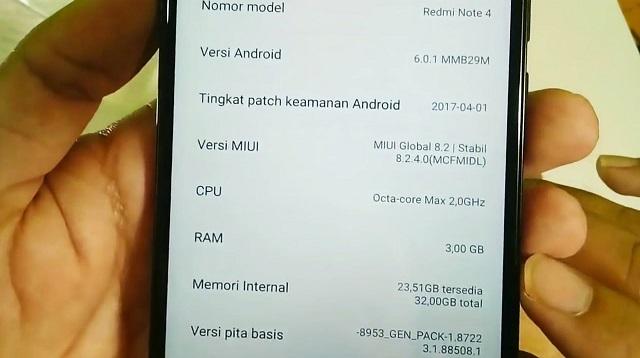 Cara Cek Spesifikasi HP Xiaomi