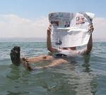 A alta salinidade no mar Morto faz as PESSOAS FLUTUAREM