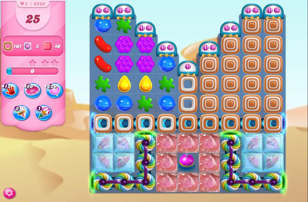 Candy Crush Saga level 9565