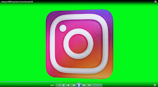 green screen logo instagram 3d