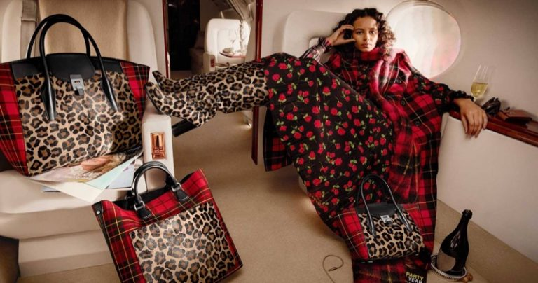 Binx Walton stars in Michael Kors fall-winter 2018 campaign