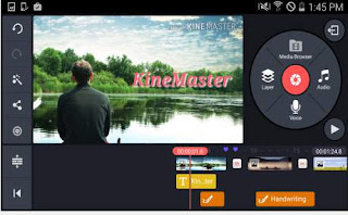 Aplikas Edit Video KineMaster Pro Free For Android