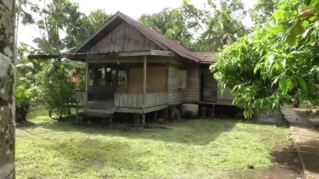 Rumah tempat korban Tinggal