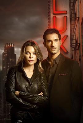 Elenco da série Lucifer - Divulgação/Canal Universal