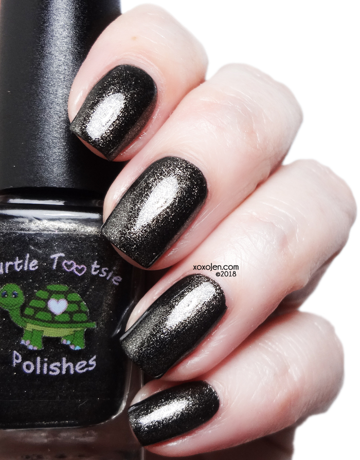 xoxoJen's swatch of Turtle Tootsie I Got Coal?