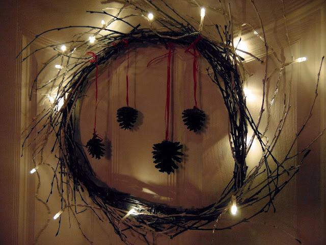 prosta i szybka dekoracja świąteczna