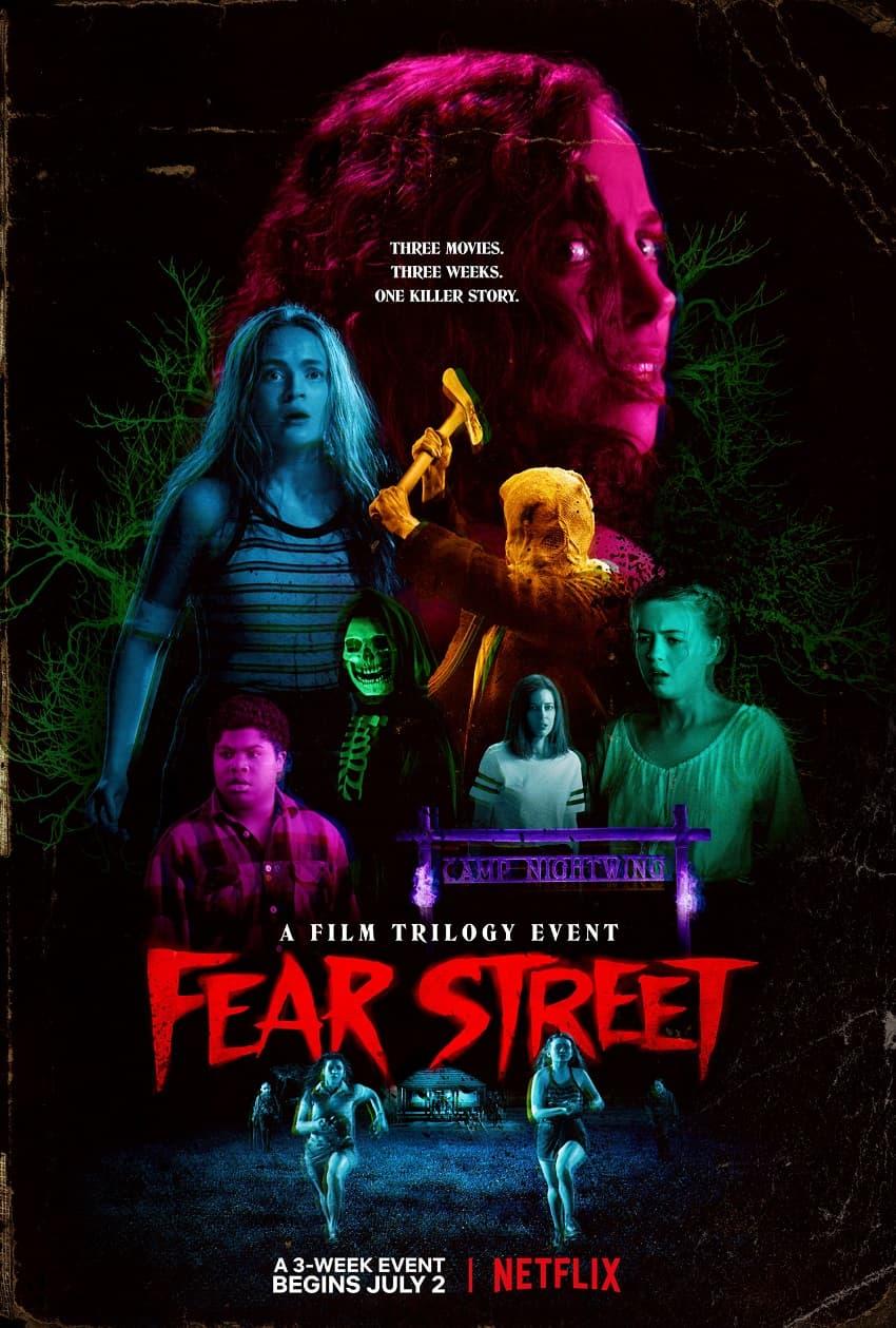 Netflix показал полный трейлер хоррор-трилогии «Улица страха» по книгам Р. Л. Стайна - Постер