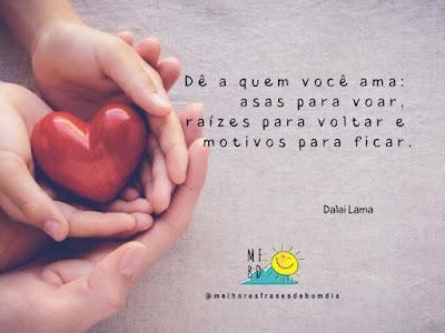 Frases de amor - Dalai Lama