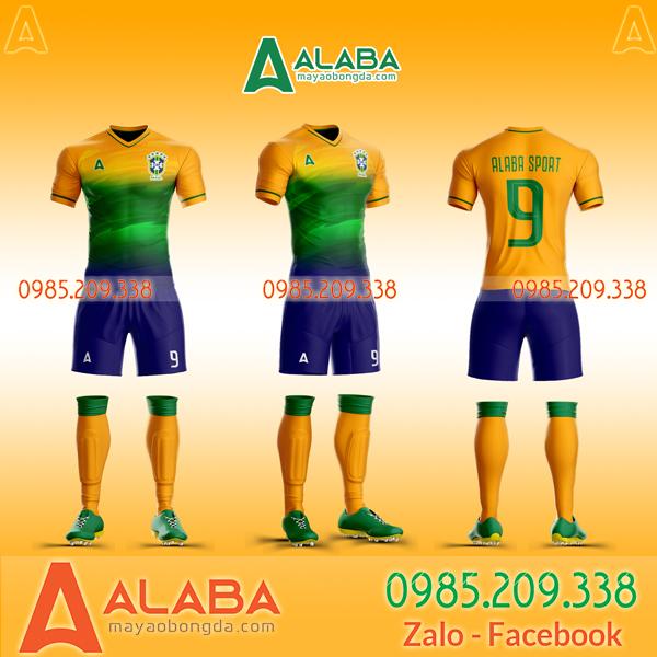 Áo Brazil 2020 vàng