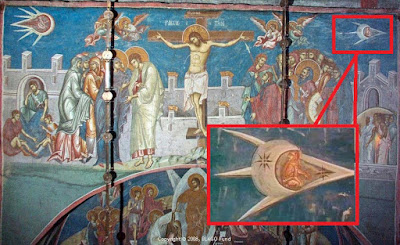 Medieval Astronaut Painting Hoax