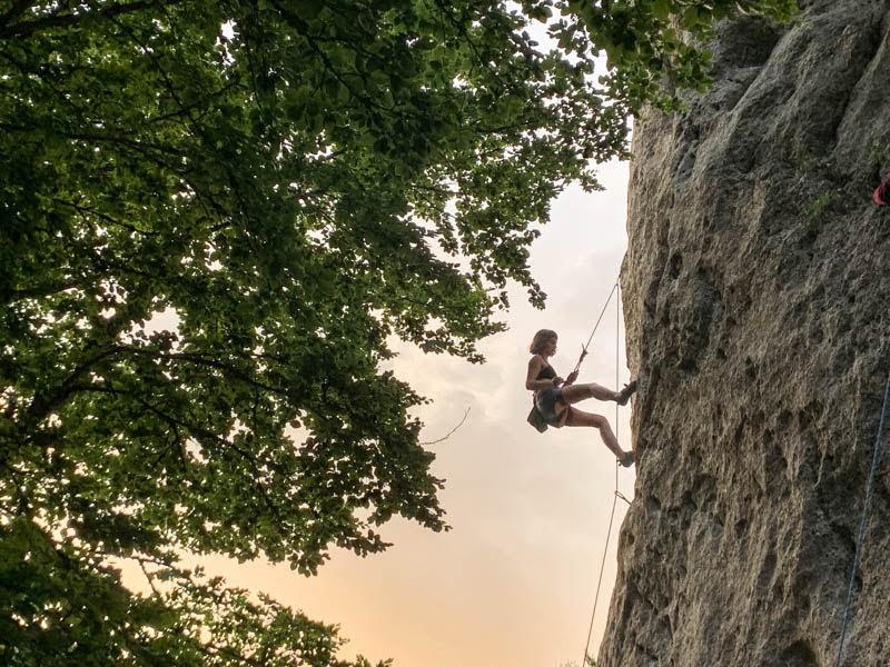 Weekend sul Monte Volturino - Tra arrampicata e camping
