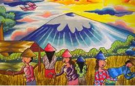 Lomba Gambar Pemandangan Alam Meningkatkan Kreativitas Anak