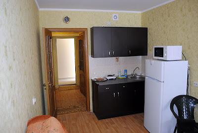 1-комнатные апартаменты отельного комплекса в Семидворье (вариант 9)