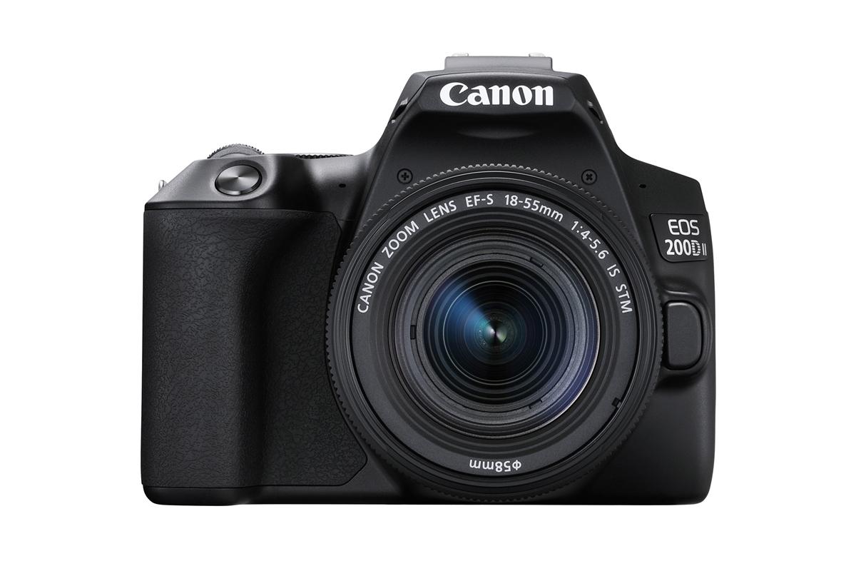 Canon EOS 200D II warna hitam