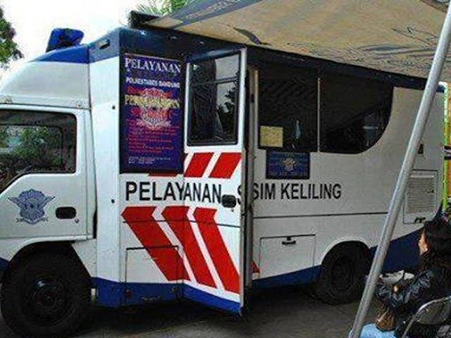 Jadwal Lengkap Layanan SIM Keliling Polrestabes Bandung Bulan Februari 2020