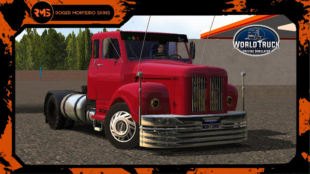 SKINS WTDS - ROGER MONTEIRO SKINS - SKINS WORLD TRUCK DRIVING SIMULATOR