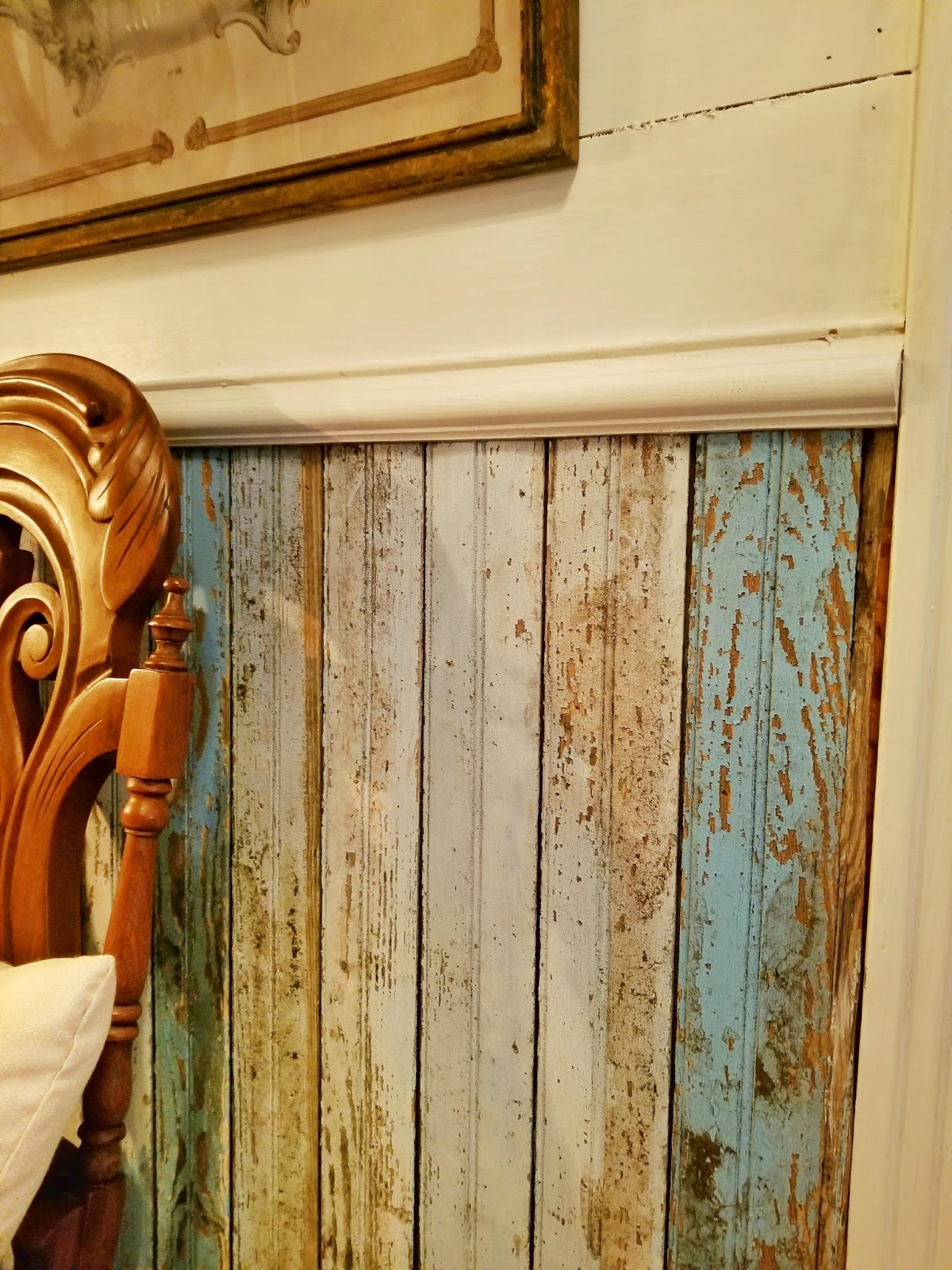 How To Install Faux Shiplap And Beadboard Walls Lady
