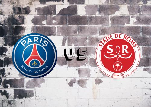 PSG vs Reims  Resumen