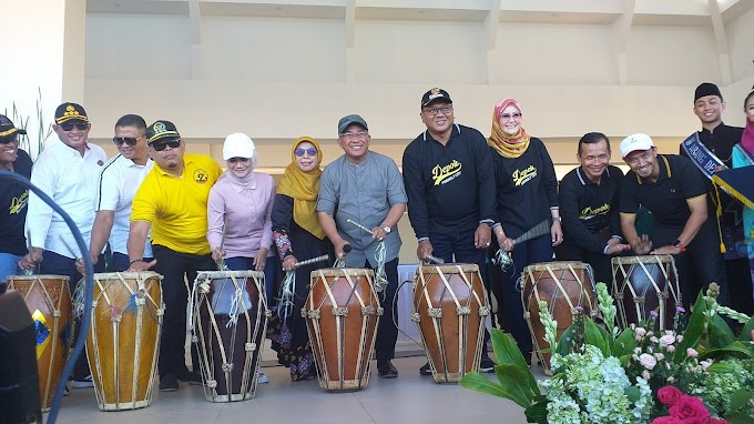 Walikota Resmikan Alun Alun Kota Depok Seluas 3,9 Hektare