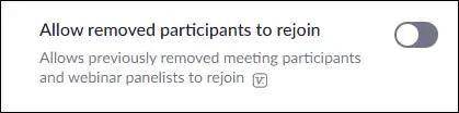 إخراج شخص من اجتماعك
