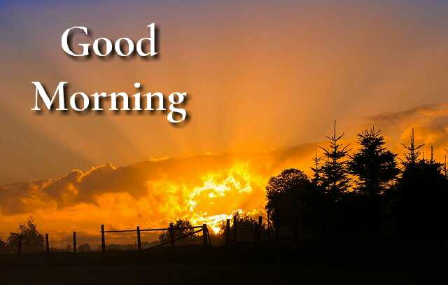 beautiful  Good Morrning image with nature Sunrise have a nice day