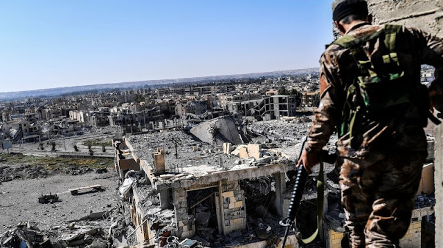 ISIS' Capital Raqqa Falls To U.S.-Backed Forces