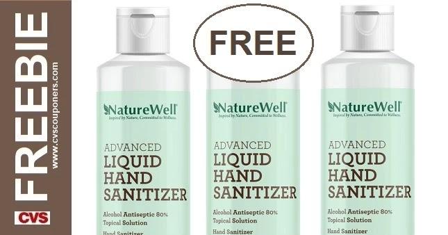 FREE Hand Sanitizer CVS Deals