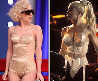 Lady Gaga mirip dengan Madonna