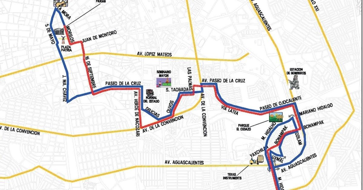 Rutas De Camiones Aguascalientes El Buen Vecino Ruta 29