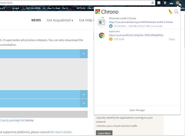 لماذا يجب عليك إستعمال Chrono Download Manager للتحميل من الأنترنت