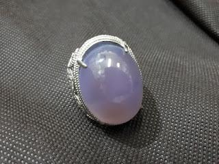 Batu Lavender Baturaja Big Size Serat Kura BTJ006 Mumbul