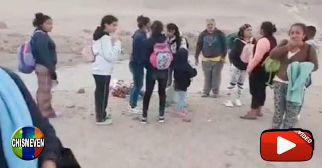 Policía de Perú rescató a los 22 refugiados venezolanos desaparecidos en el desierto