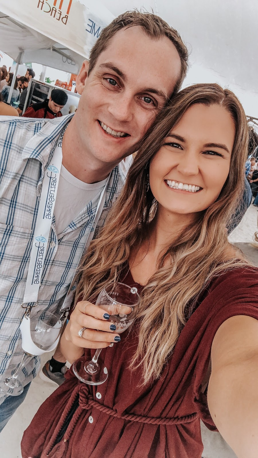Tampa Bay blogger at Clearwater Beach's Uncorked Food and Wine festival
