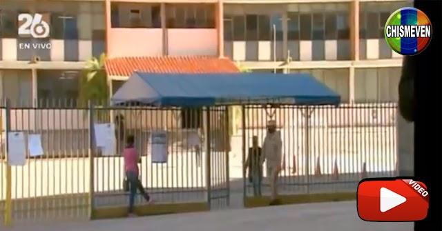 Reportera mediocre de Globovisión habla sobre una Importante Afluencia de Electores (4)