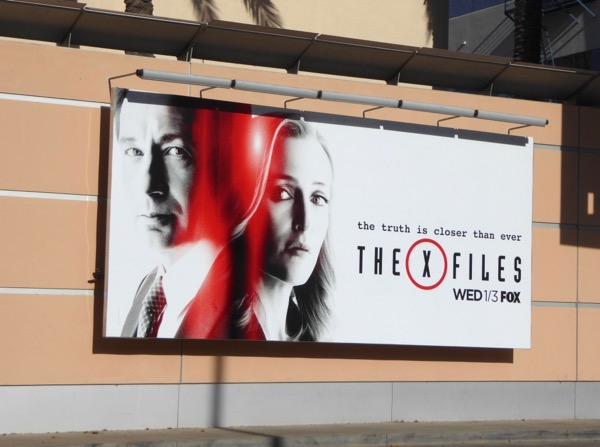 X-Files season 11 billboard
