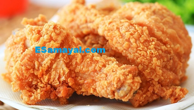 கெண்டகி ஃபிரைடு சிக்கன் (KFC) செய்வது | Make kentaki chicken !