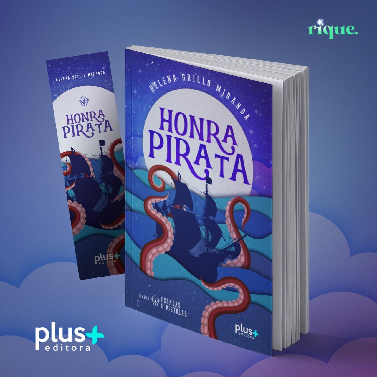 Pré-venda livro Honra Pirata
