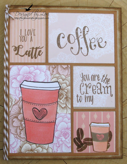 Spring Coffee Lovers Bloghop ~ Day 3 ~ Joy Clair Coffee Lovers Stamp Set