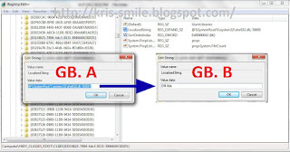 CARA GANTI  NAMA Libraries default 5