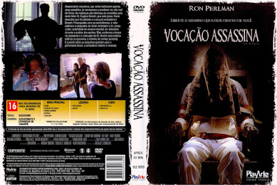 Filme Vocação Assassina (Killer by Nature) DVD Capa