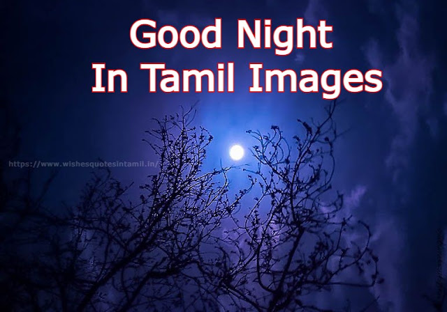 Good Night In Tamil Images
